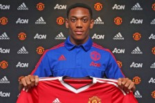 Anthony Martial joins Manchester United