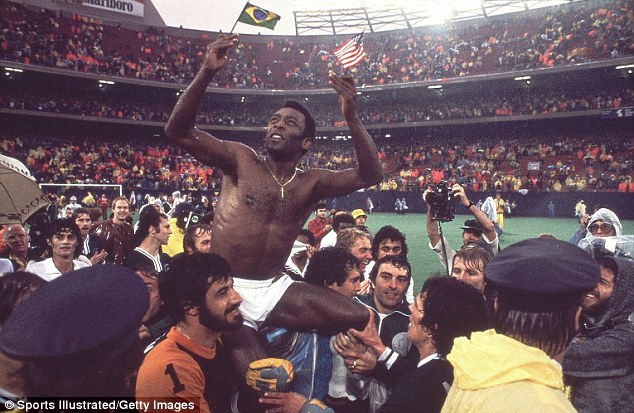 Pele after the game