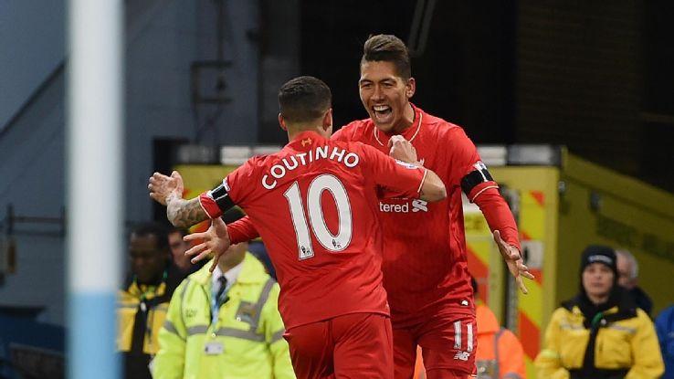 Coutinho and Firmino
