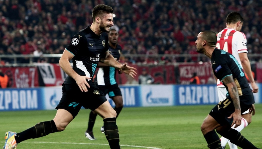 Arsenal and Chelsea join Man City in Champions League final 16