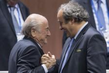 Blatter and Platini