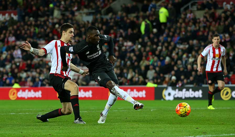 Benteke in action. Image Source: Premierleague.com