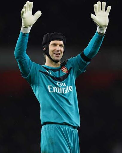 Petr Cech was the man of the match