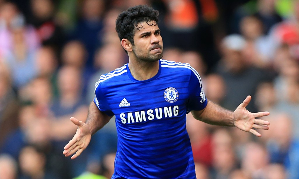 Costa is back in action for Chelsea Image Source - The Guardian