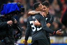 INJURY WORRIES AS LIVERPOOL WIN