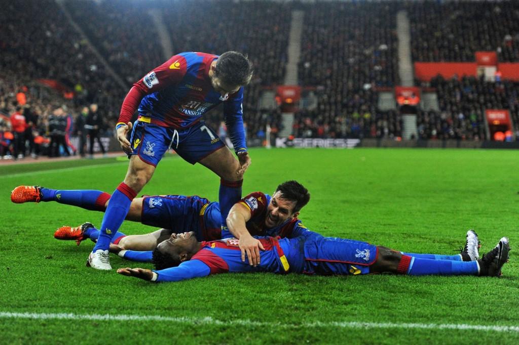 Crsytal Palace beat Southampton
