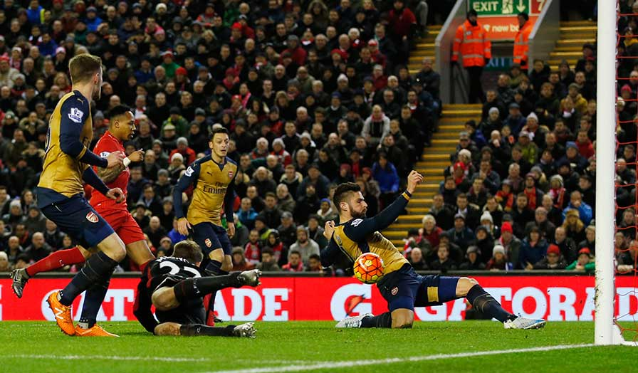 arsenal vs liverpool 2