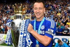 Terry out for Chelsea clash against PSG