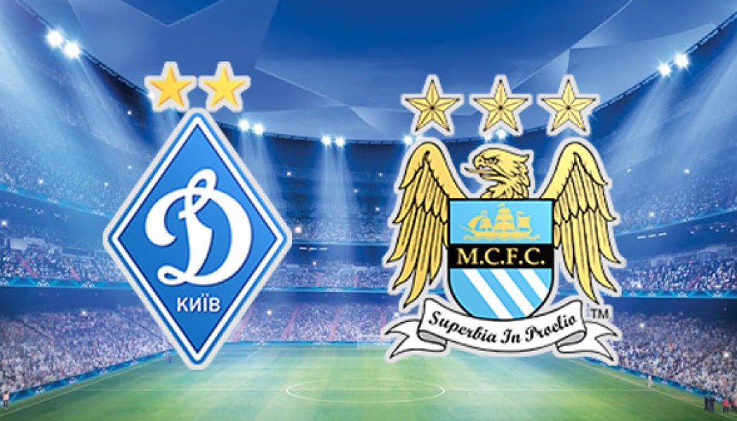 Champions League Man city VS Dynamo Kiev