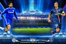 Champions League round 16 PSG VS Chelsea