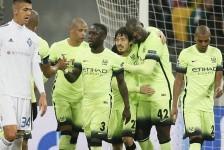 Man City take down Dynamo Kiev
