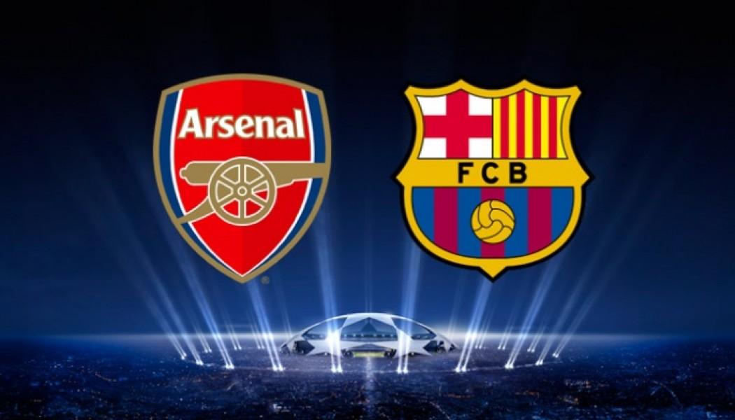 Champions League Arsenal VS Barcelona