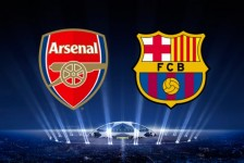 Champions League Arsenal VS Barcelona