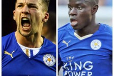 Kante and Drinkwater: Leicester City's fearsome duo