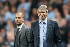 Pep Guardiola set to replace Pellegrini as Manchester City Manager.