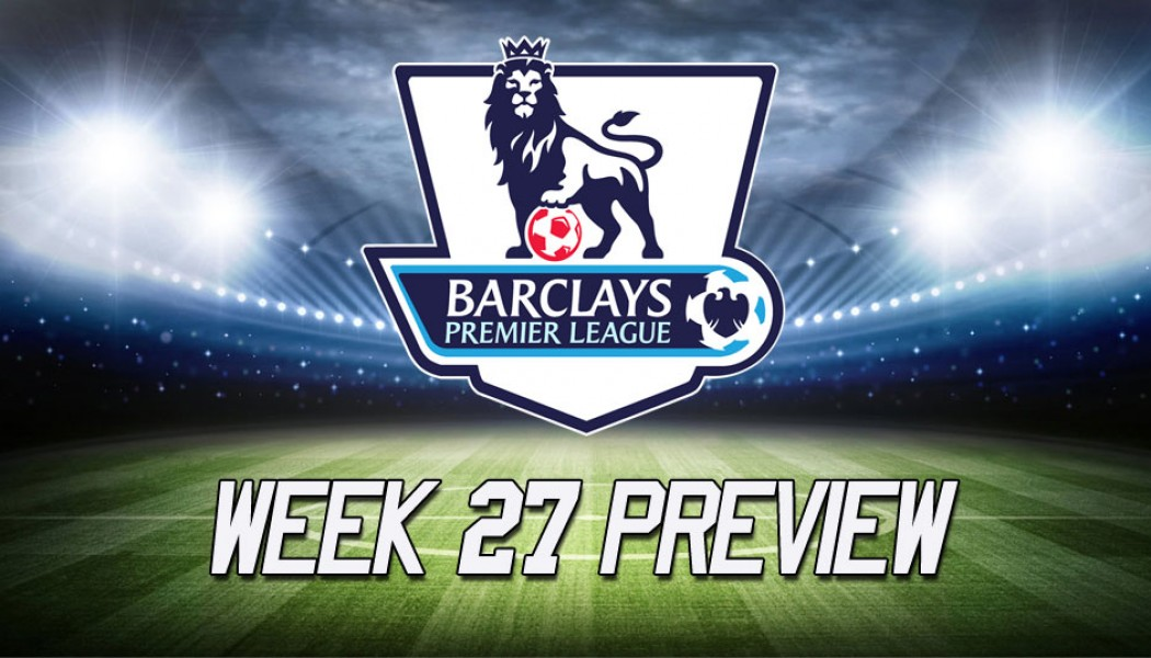 Manchester United VS Arsenal Premier League Week 27