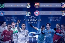 Champions League Draw – Quarter finals