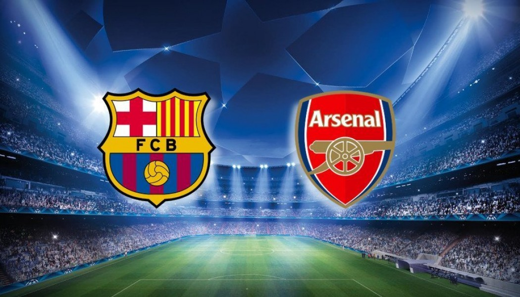 Champions League: Barcelona VS Arsenal