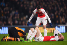 Arsenal suffer triple injury in FA Cup clash