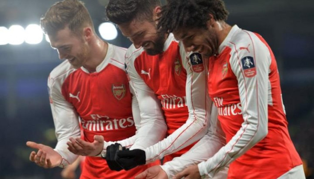 Arsenal crush Hull in FA Cup to get to quarter final