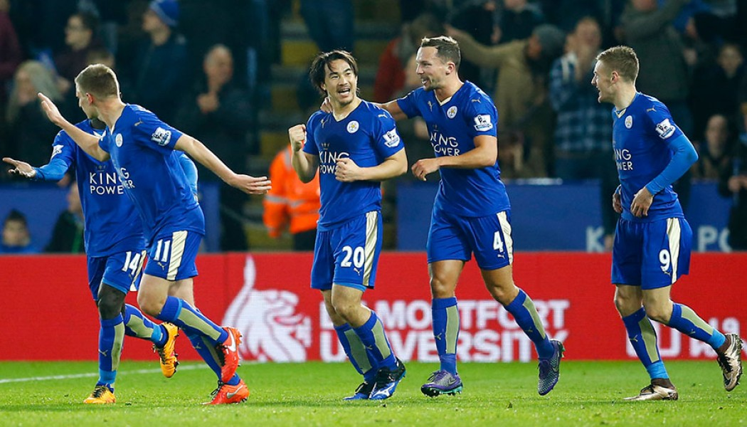 Leicester stay five points clear