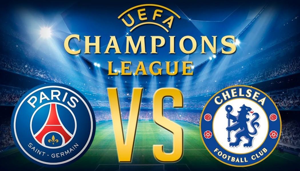 Champions League Chelsea VS PSG