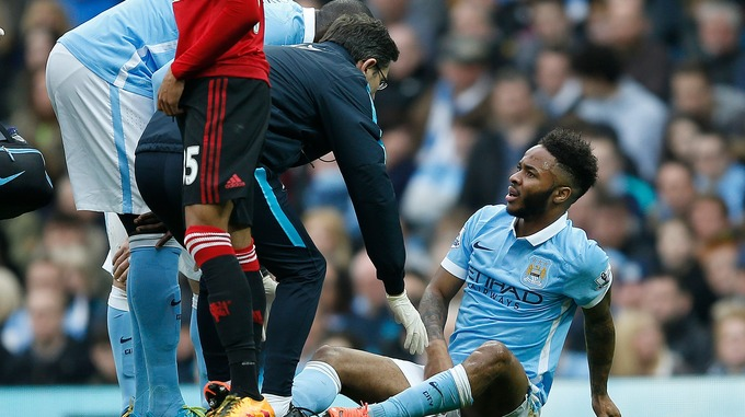 Sterling injured