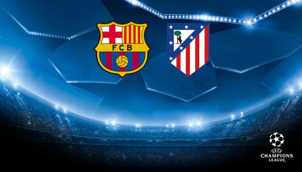 Champions League Barcelona VS Madrid