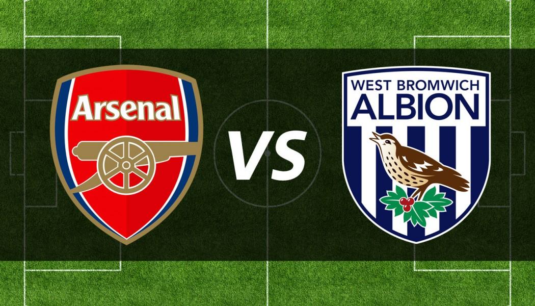 BPL: Arsenal VS West Brom