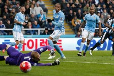 BPL: Man City held to a draw against New Castle