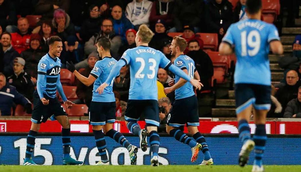 BPL: Spurs start applying the pressure