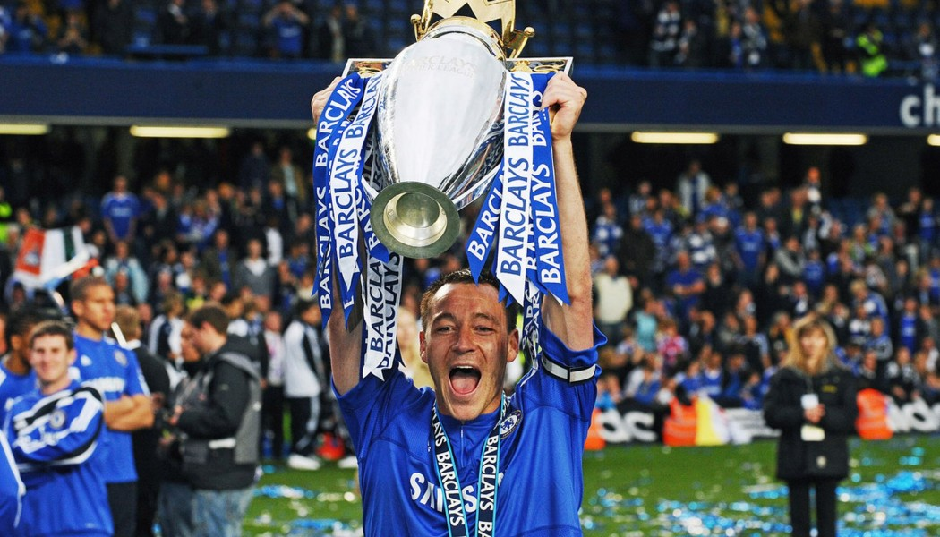 John Terry agrees to stay at Chelsea for another year.