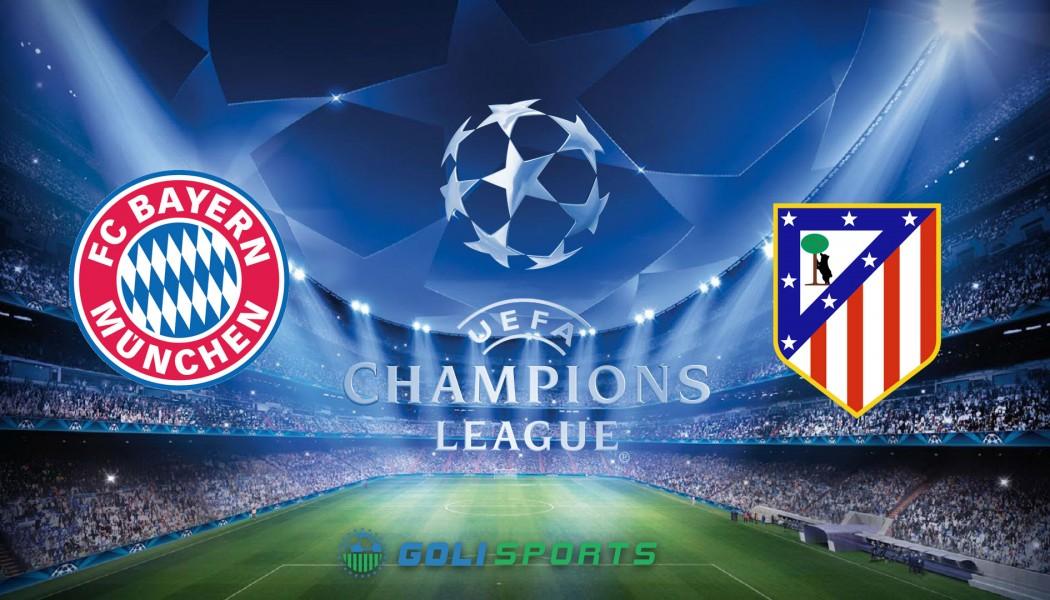 Champions League Bayern VS Atletico Madrid