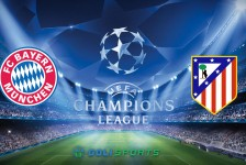 Champions League Bayern VS Atletico Madrid
