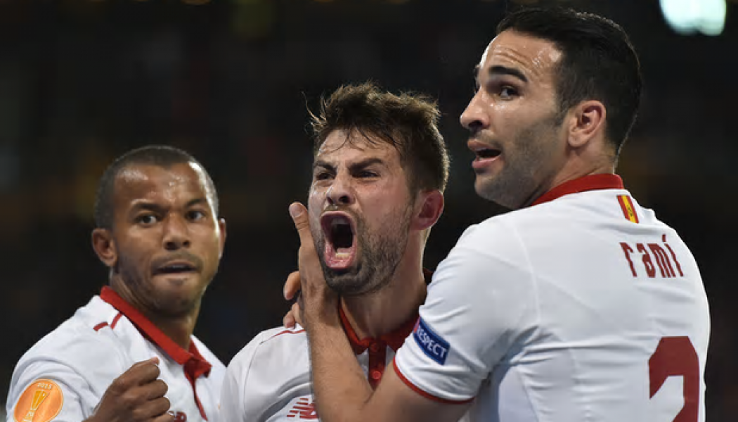 Liverpool go down against Sevilla in Europa final