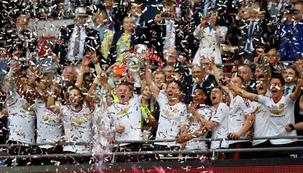 Manchester United FA Cup Champions