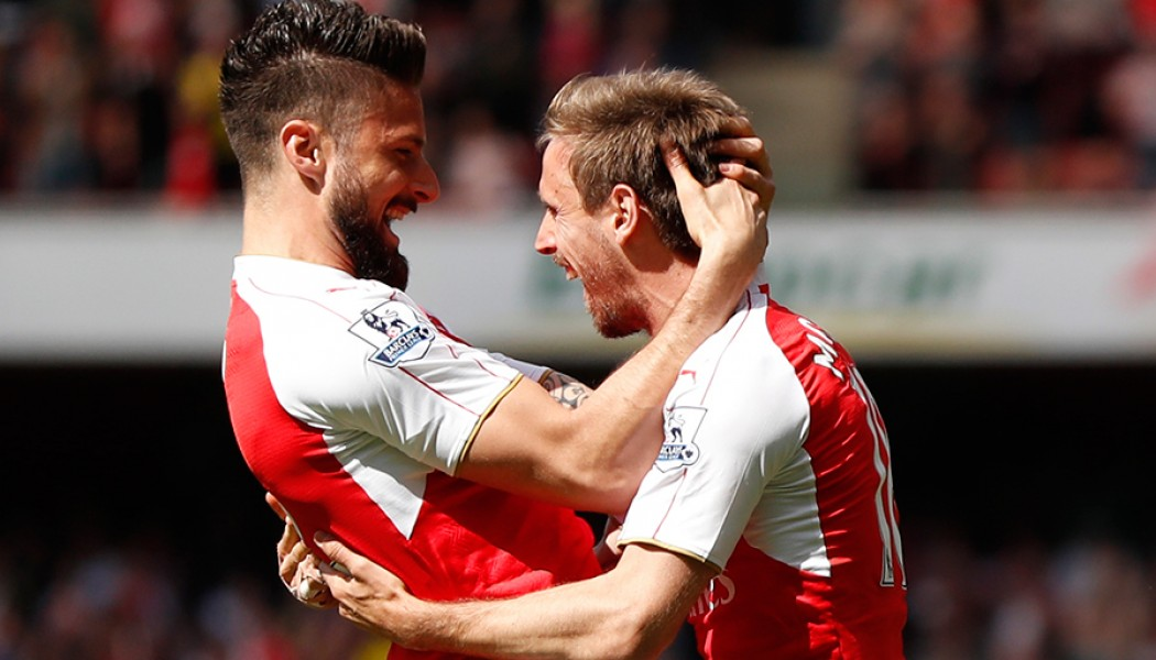 Arsenal pip Spurs and Man City secure the 4th position