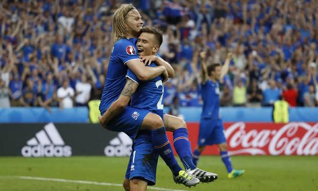 Iceland celebrate