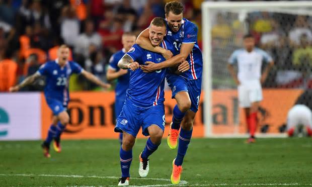 Ragnar scores for Iceland