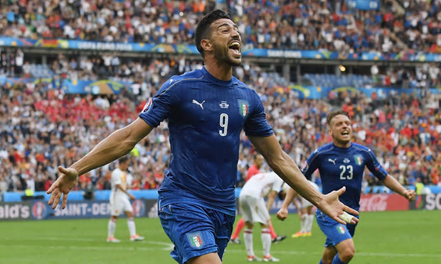 pelle scores for italy