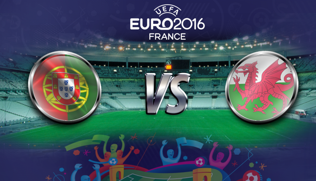 EURO Semi-Final: Portugal VS Wales