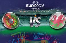 EURO Semi-Final: Portugal VS Wales