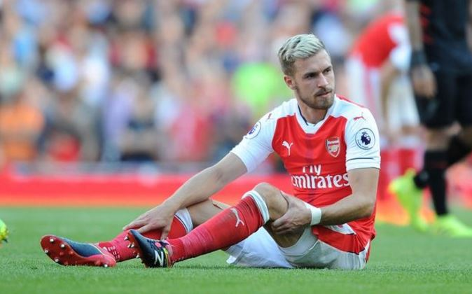 Aaron Ramsey Injured