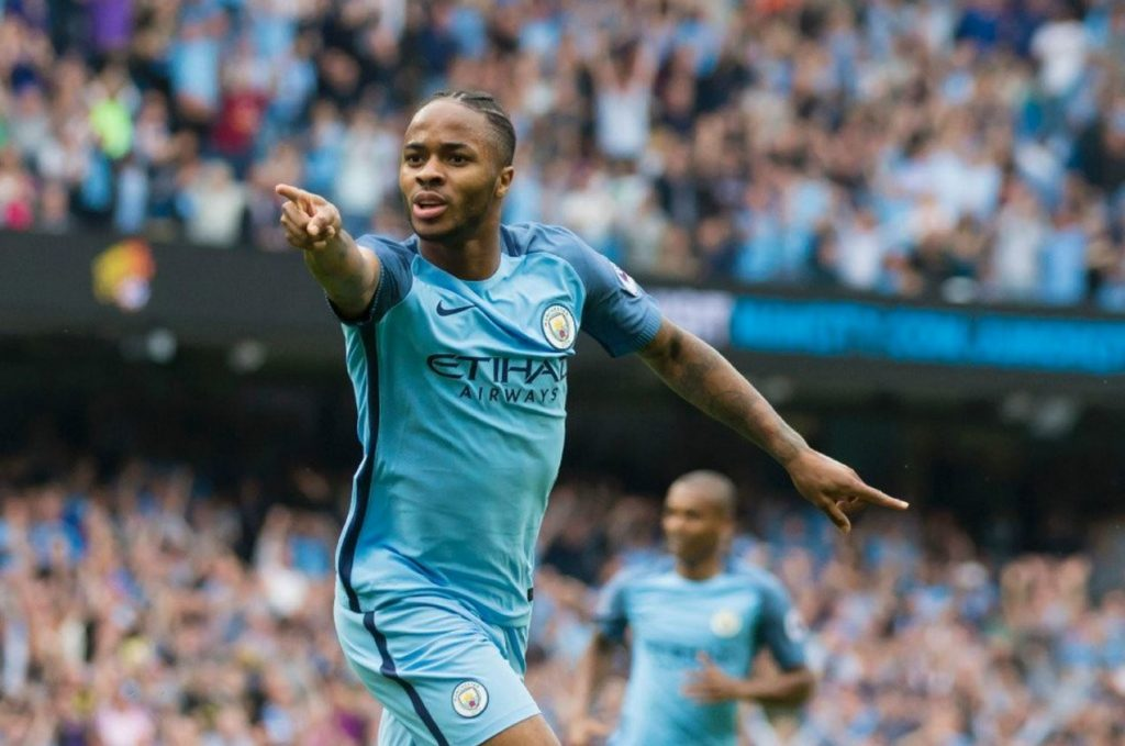 Raheem Sterling Man City Score