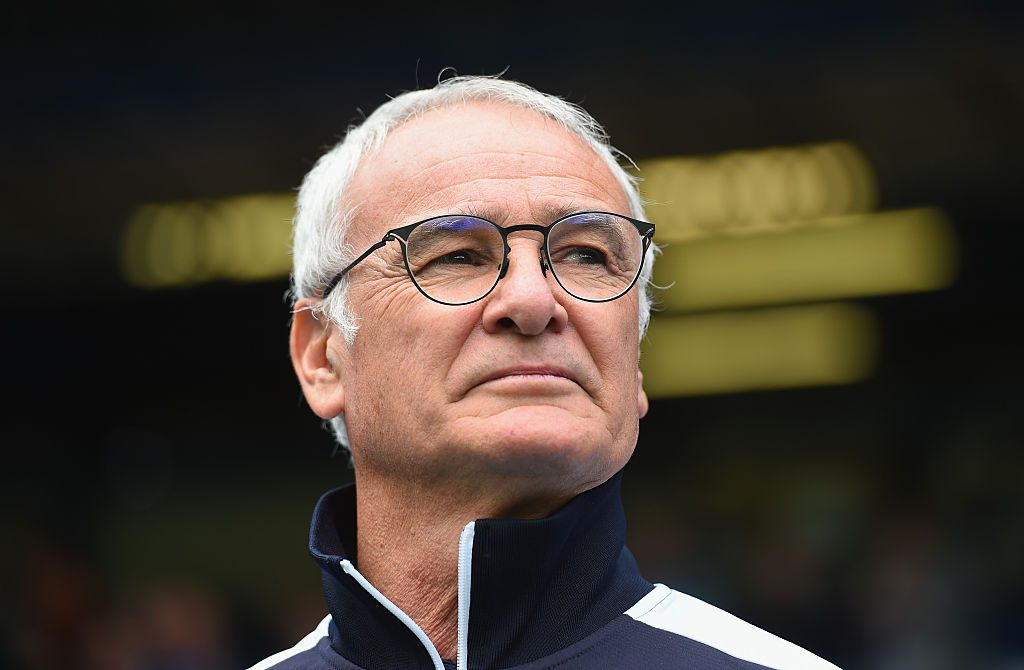 BIRMINGHAM, ENGLAND - AUGUST 01: Leicester City manager Claudio Ranieri during the Pre-Season Friendly match between Birmingham City and Leicester City at St Andrews (stadium) on August 1, 2015 in Birmingham, England. (Photo by Shaun Botterill/Getty Images)