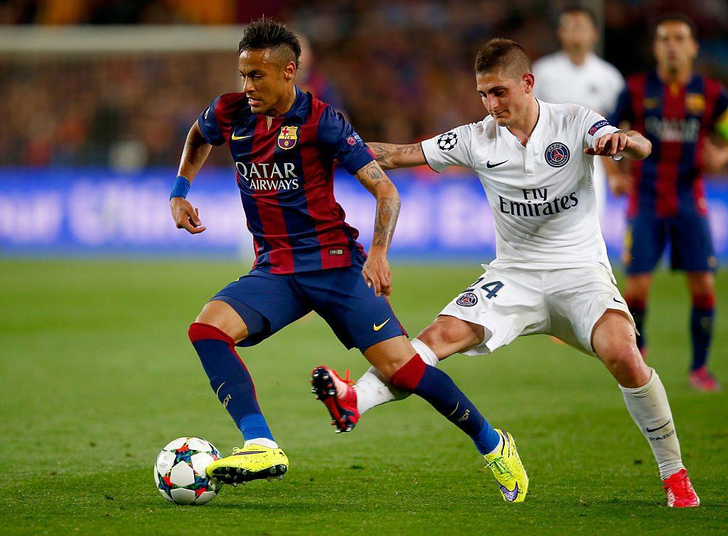 <> at Camp Nou on April 21, 2015 in Barcelona, Spain.