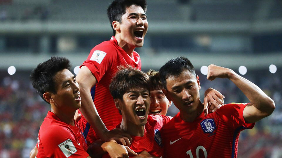 Korea Republic Qualify for 2018 World Cup