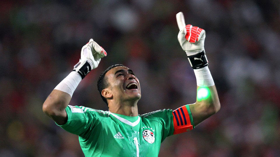 Egypt qualify for the 2018 FIFA World Cup