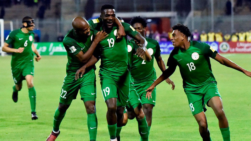 Nigeria qualify for FIFA 2018 World Cup