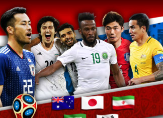 World Cup 2018 Asia